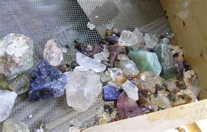 Gem Mining in Franklin, NC, Fun things to do in the Smoky Mountains