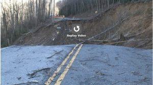 Great Smoky Mountains National Park Landslide